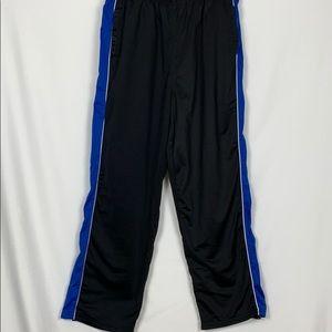 Athletic Works black/ royal blue sweatpants XL